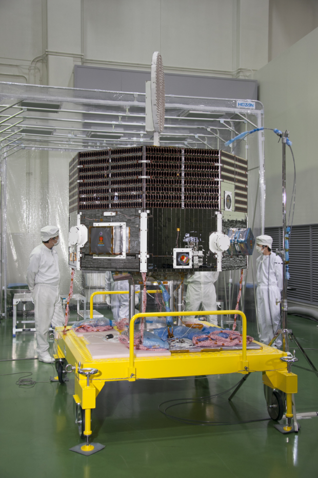 水星磁気圏探査機(MMO)熱真空試験