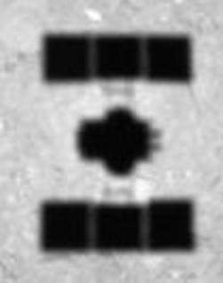 ONC-W1が最下点付近で撮影したリュウグウ表面画像(2018/10/15)拡大