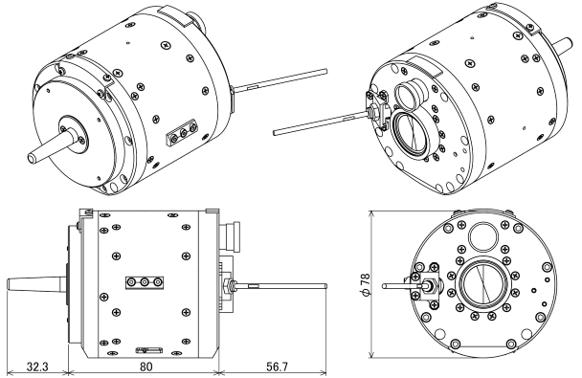 小惑星探査機「はやぶさ2」の記者説明会(2019/4/11) 分離カメラ(DCAM3)による撮影アナログ系/デジタル系の搭載方法