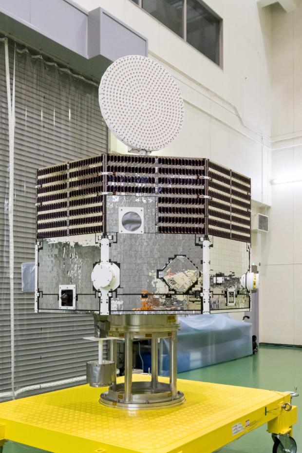 水星磁気圏探査機(MMO)機体公開