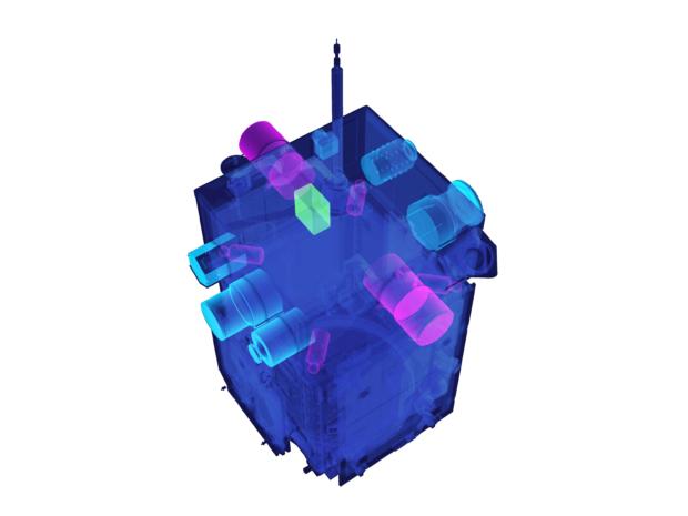 ERG衛星の観測機器