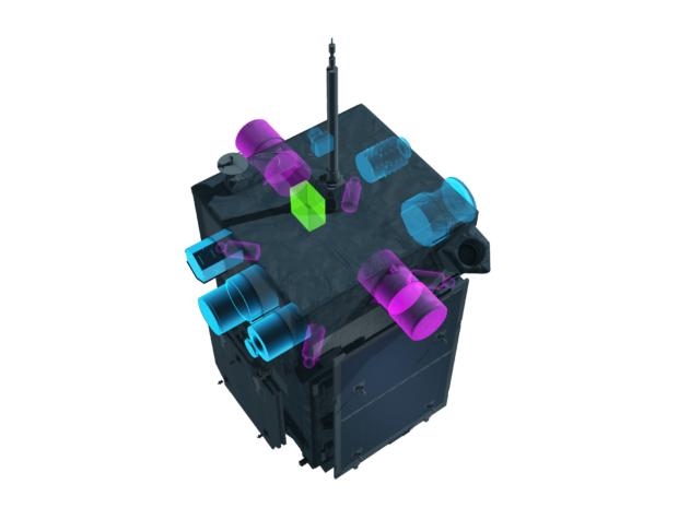 ERG衛星の観測機器2