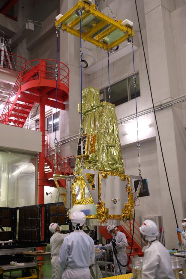 惑星分光観測衛星「SPRINT-A」真空試験の様子(6)