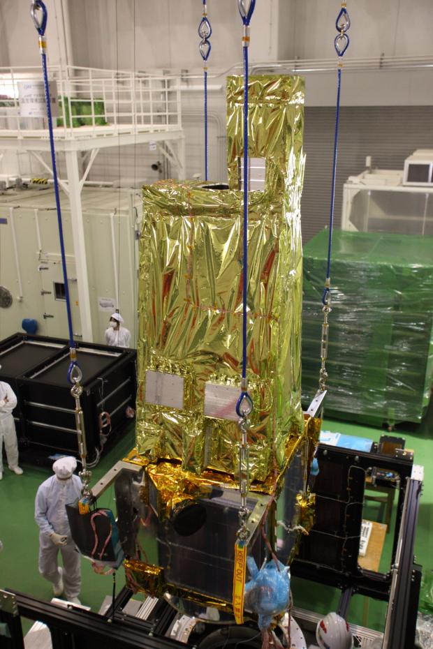 惑星分光観測衛星「SPRINT-A」真空試験の様子(8)