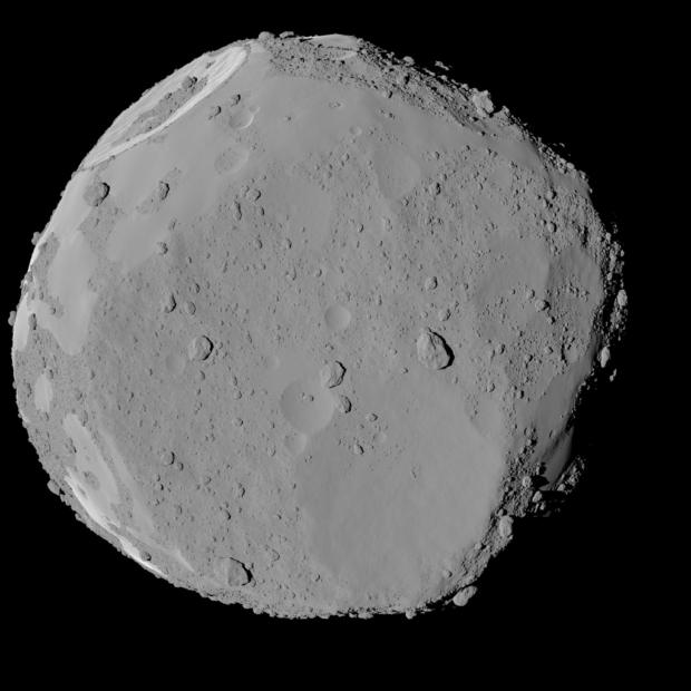仮想の小惑星の形状モデル