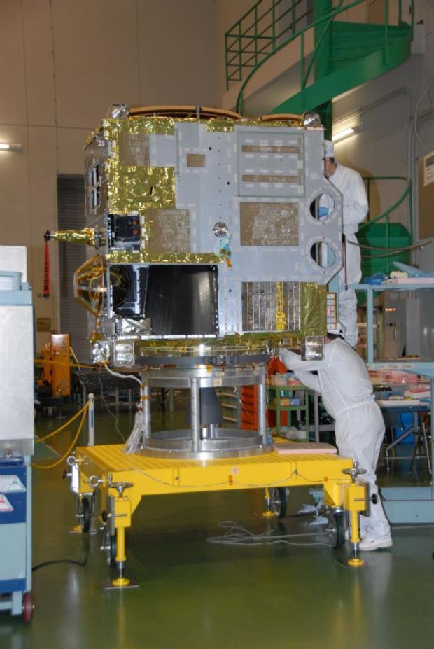 金星探査機「あかつき(PLANET-C)」プレス公開
